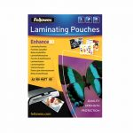 pochettes plastification fellowes mates a3 80 microns