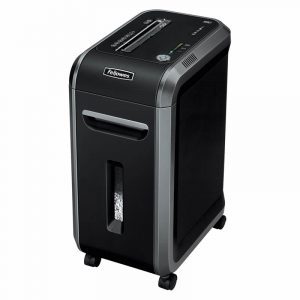 destructeur de documents fellowes 99ci coupe croisee 3 9 x 38 mm din 3 17 feuilles